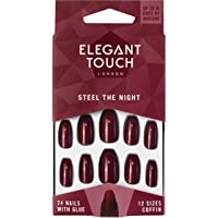 Elegant Touch Trend Colour Nails, Steel The Night