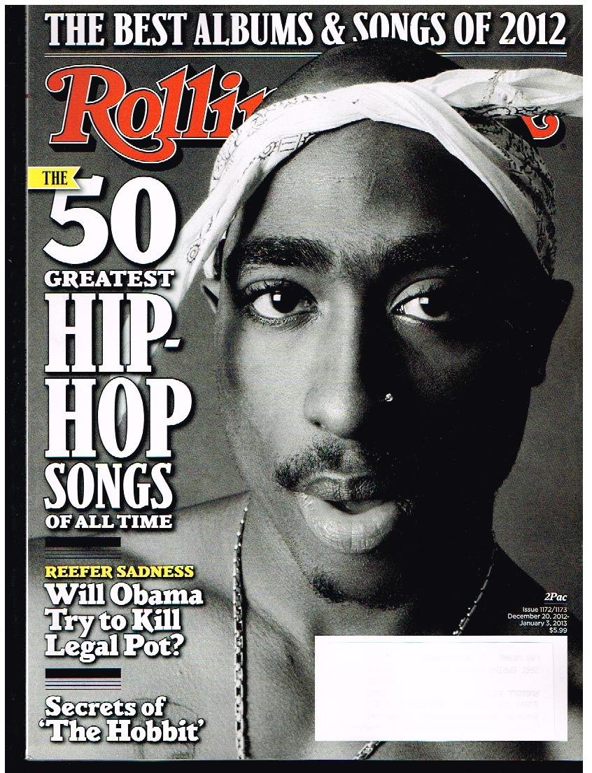 ROLLING STONE Magazine (12-20-12) The 50 Greatest Hip-Hop