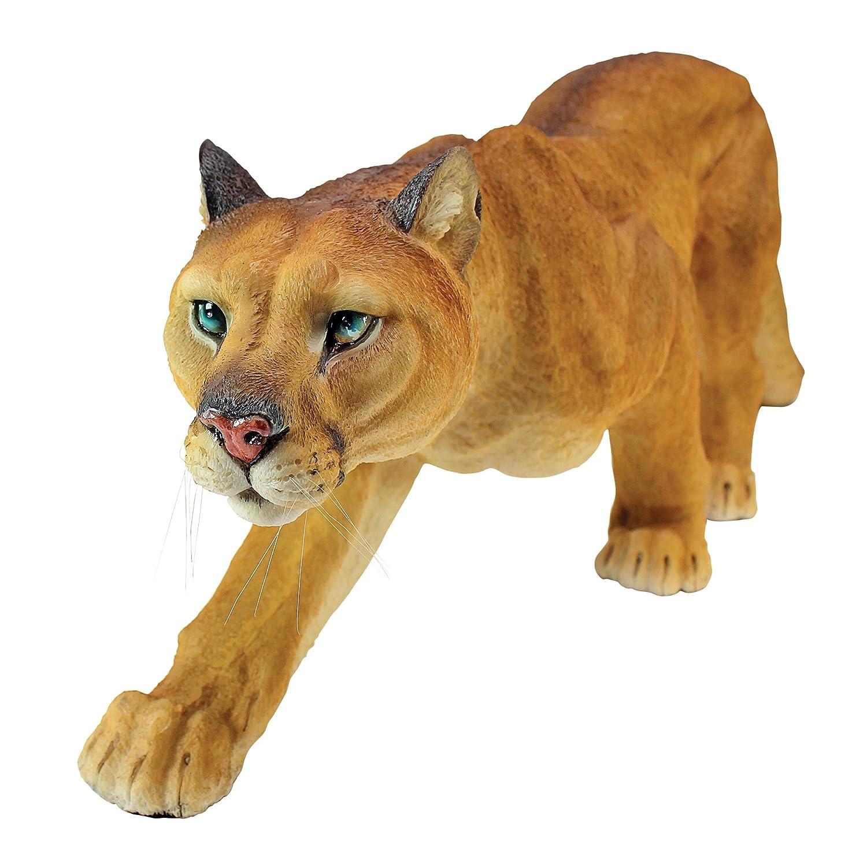 Design Toscano Prowling American Mountain Cougar Statue