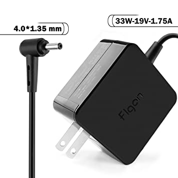 Flgan 19V 1.75A 33W Extra Long 8.2 ft Power AC Adapter Charger for ...