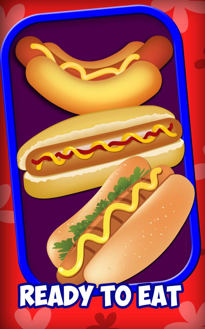 hot dog maker free games for kids appstore for android. Black Bedroom Furniture Sets. Home Design Ideas