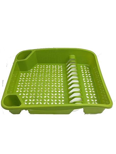 New Whitefurze Kitchen Sink Plastic Dish \u0026 Cutlery Drainer Plates (Lime Green)  sc 1 st  Amazon UK & New Whitefurze Kitchen Sink Plastic Dish \u0026 Cutlery Drainer Plates ...