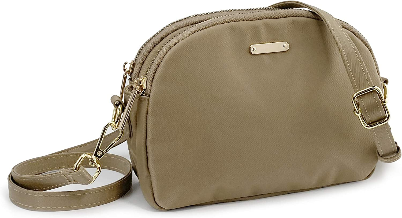 Lightweight Small Crossbody Bag Women Nylon Shoulder Bag Waterproof Travel Purse