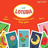 Lil' Loteria: A Bilingual Picture Word Bingo Game (English and Spanish Edition)