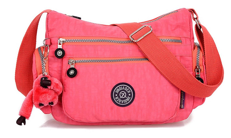 outlet TESOON Lightweight Waterproof Nylon Handbag Crossbody Messenger Bag Shoulder Bag