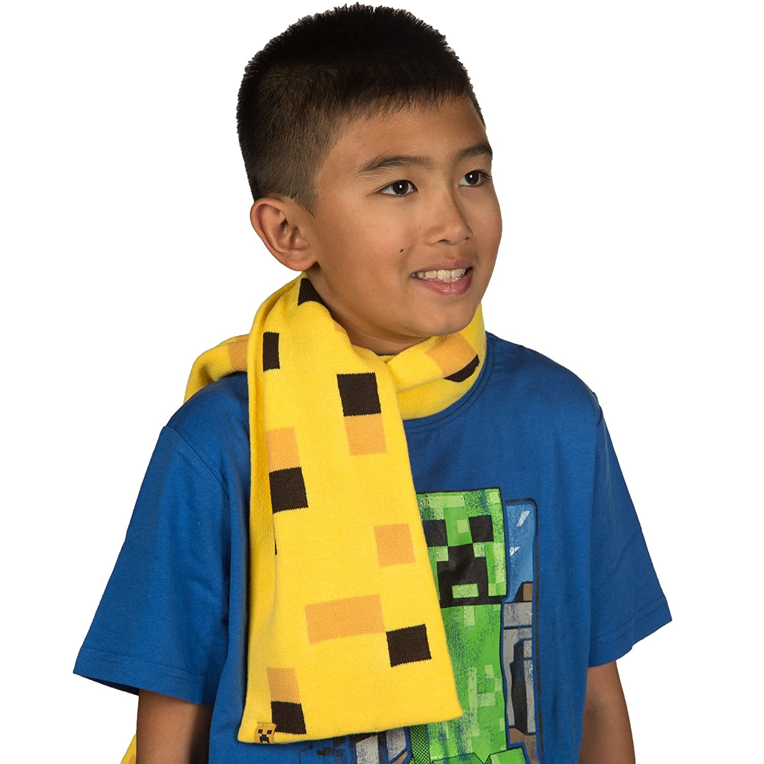 Ocelot Scarf in Yellow Official Minecraft