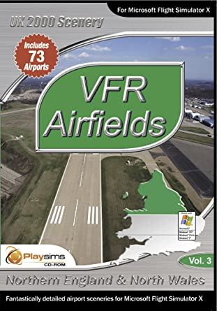 VFR Airfields Volume 1 - Northern England & North Wales FSX: Amazon