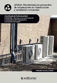 Mantenimiento preventivo de instalaciones de climatización y ventilación-extracción
