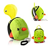 Amazon Price History for:Toddler Backack, Toddler Leash, Baby Leash, Safety Harness for Kids Harness Backpack with Hat for Boys & Girls, Toddler Anti-lost, Little Duck