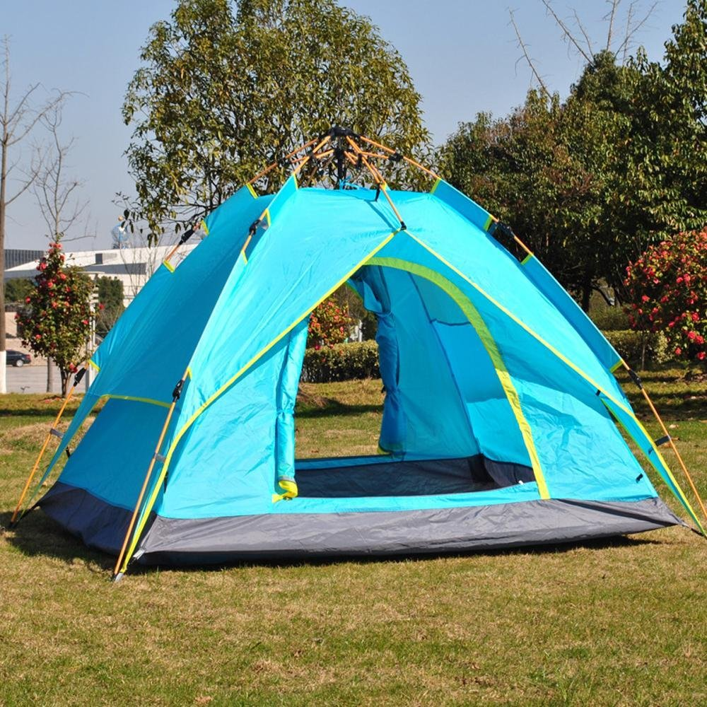Kaxima Outdoor-doppelter Regen-Proof Camping hydraulische automatische Zelt