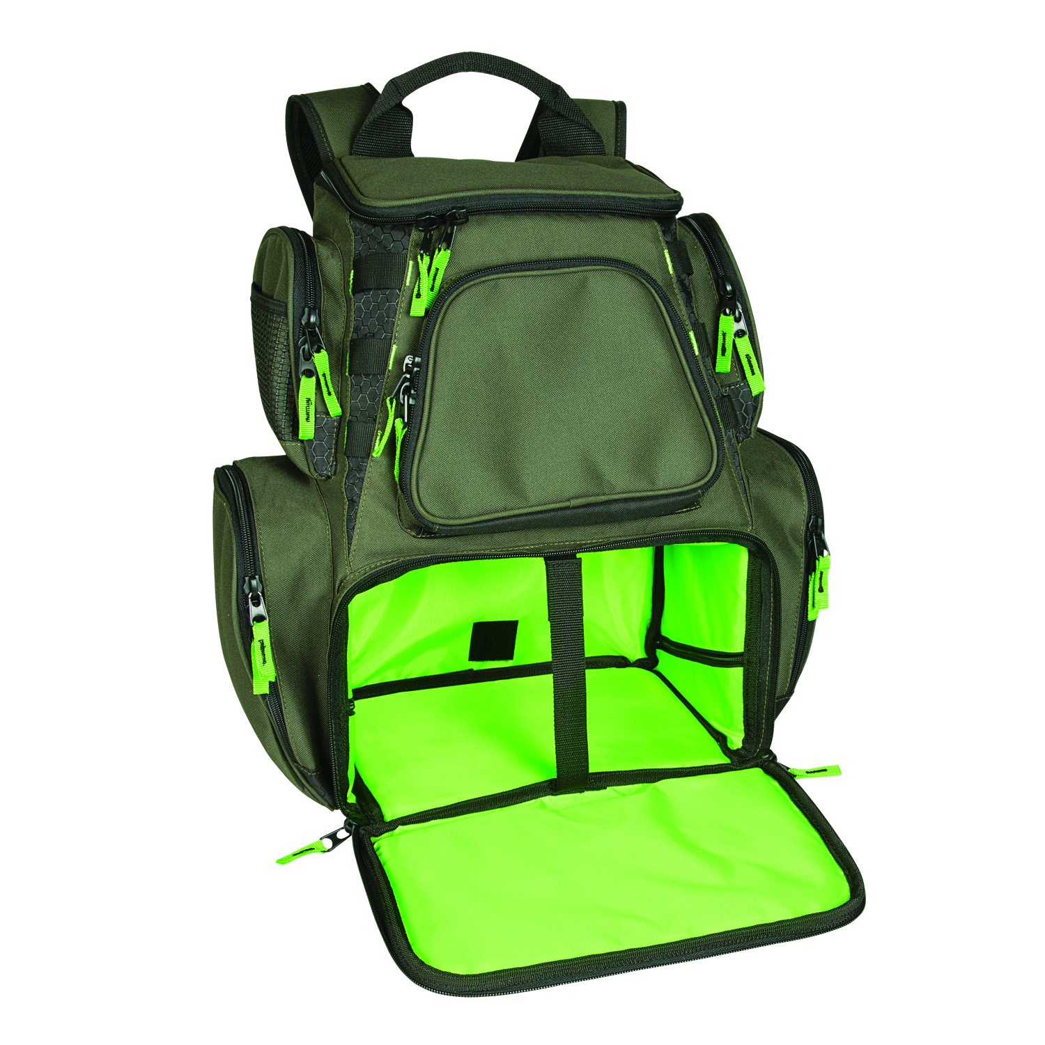 Wild River by CLC WT3606 Multi-Tackle Large Backpack with Two 3600 Style Trays by Wild River