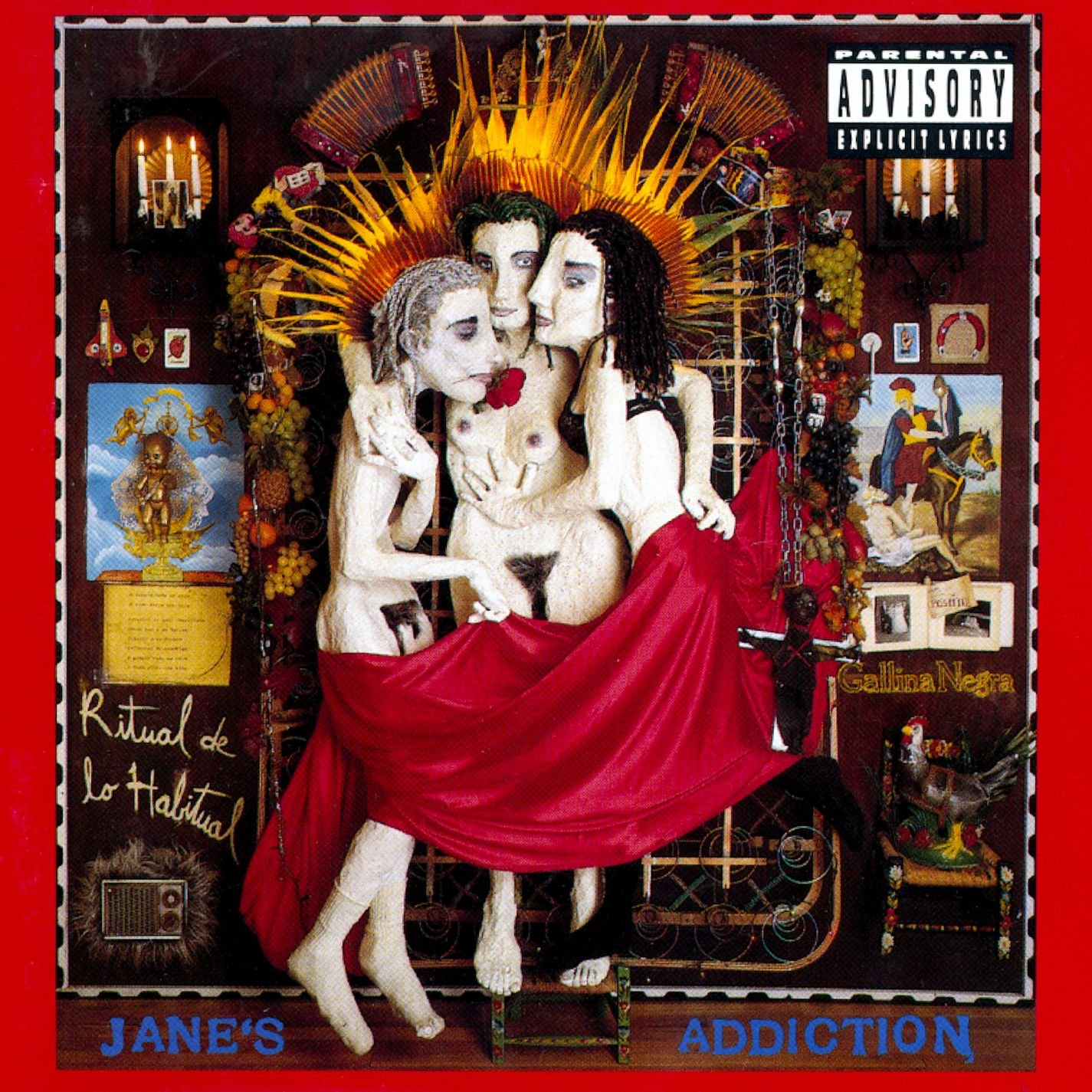 CD : Jane's Addiction - Ritual De Lo Habitual [explicit Content] (CD)
