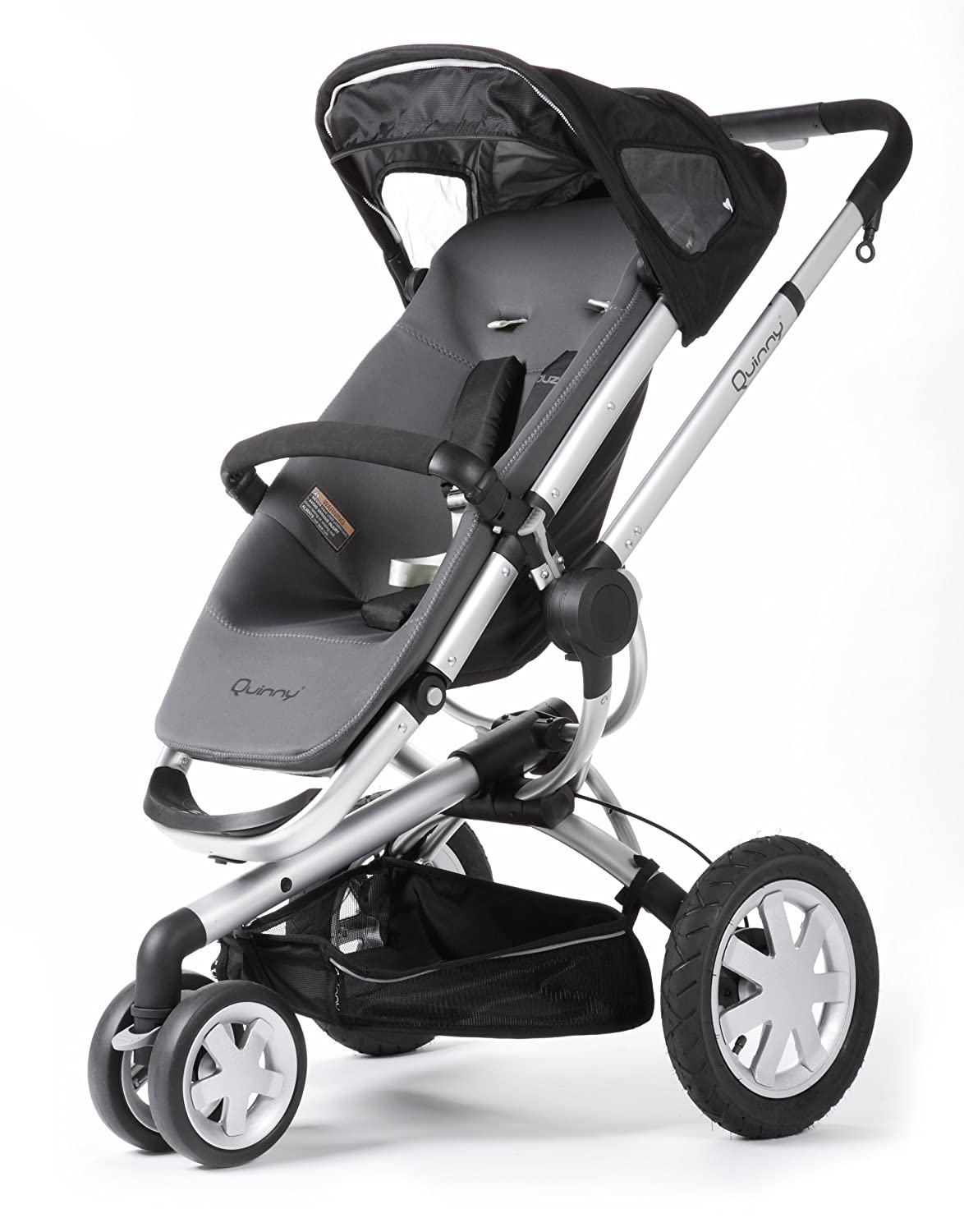 Quinny Buzz 3 Wheel Stroller, Black