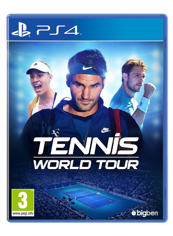 EU版 Tennis World Tour (国内版本体動作可)の商品画像