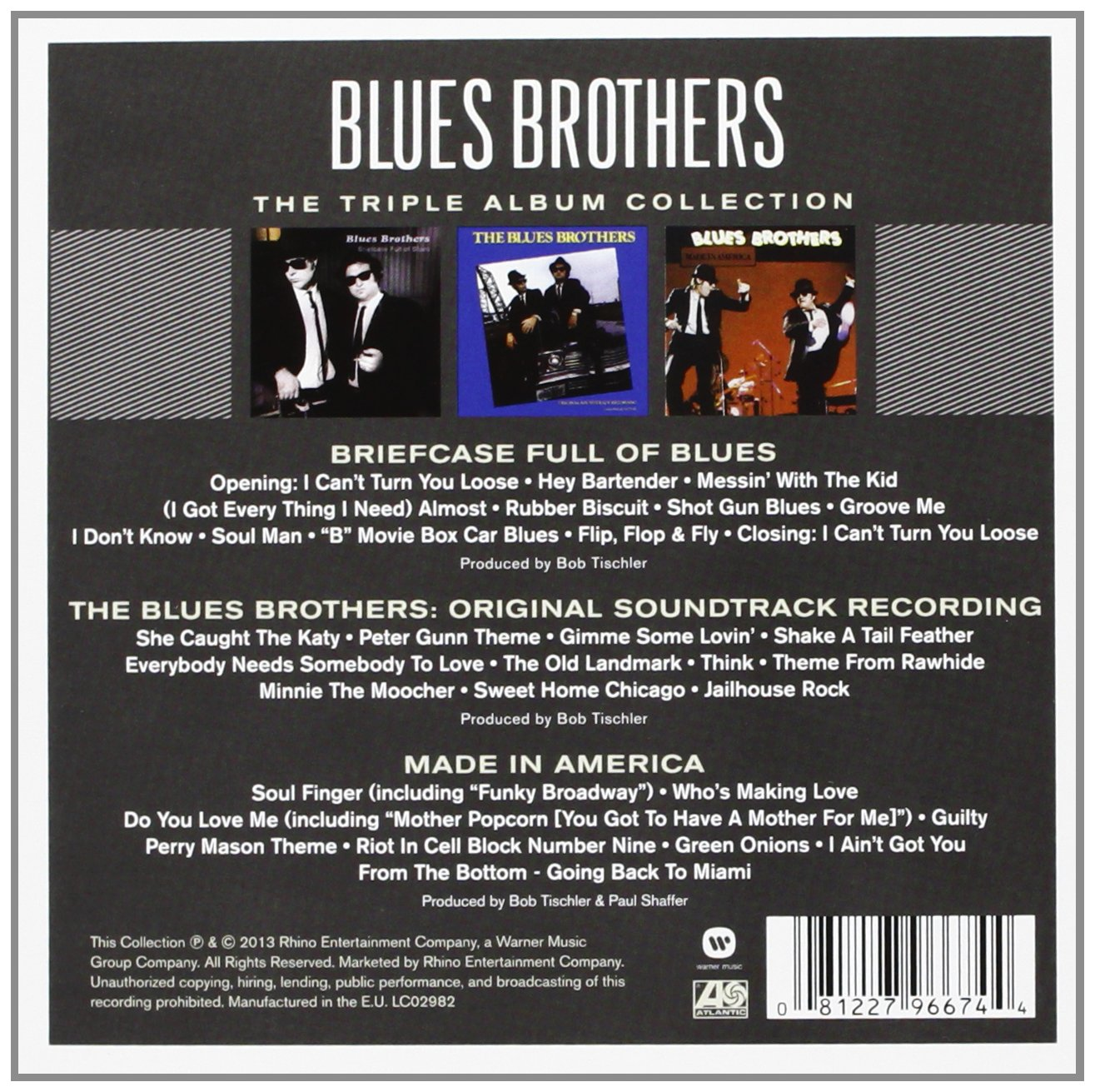 Blues Brothers The Triple Album Collection Amazon Com Music