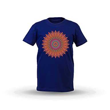 KrisTalas niños Camiseta de Las niñas Mandala Spiritual ...