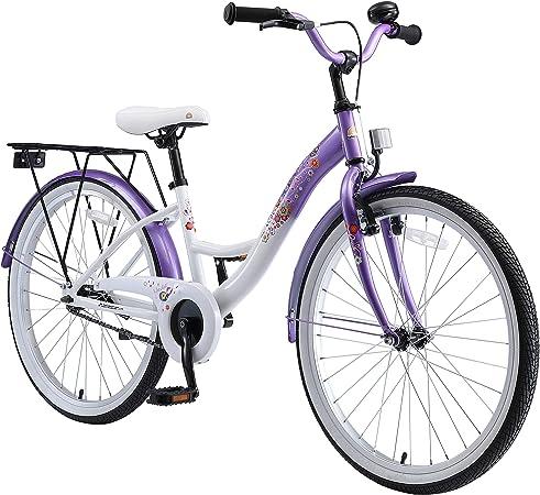 BIKESTAR Bicicleta Infantil para niñas a Partir de 10 años   Bici 24 Pulgadas con Frenos   24