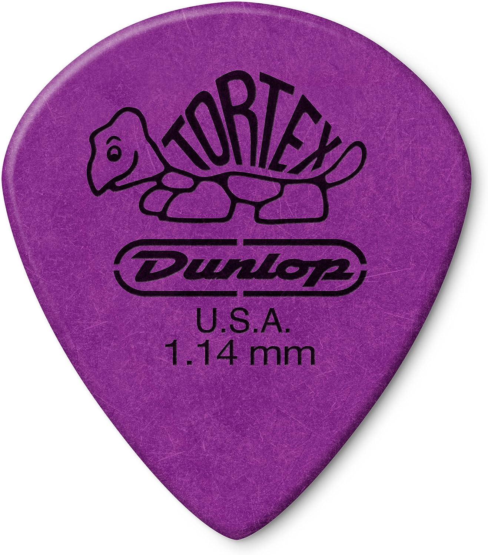Jim Dunlop 498P114 - Púa (de tortex, paquete de 12 uds.)