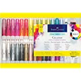Faber-Castell Gelatos Dolce II Gift Set - 28 Colors - Multi-Purpose Art Medium Set
