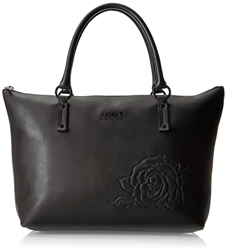 Armani Jeans Embossed Floral Tote Bag f1afa8b09a584