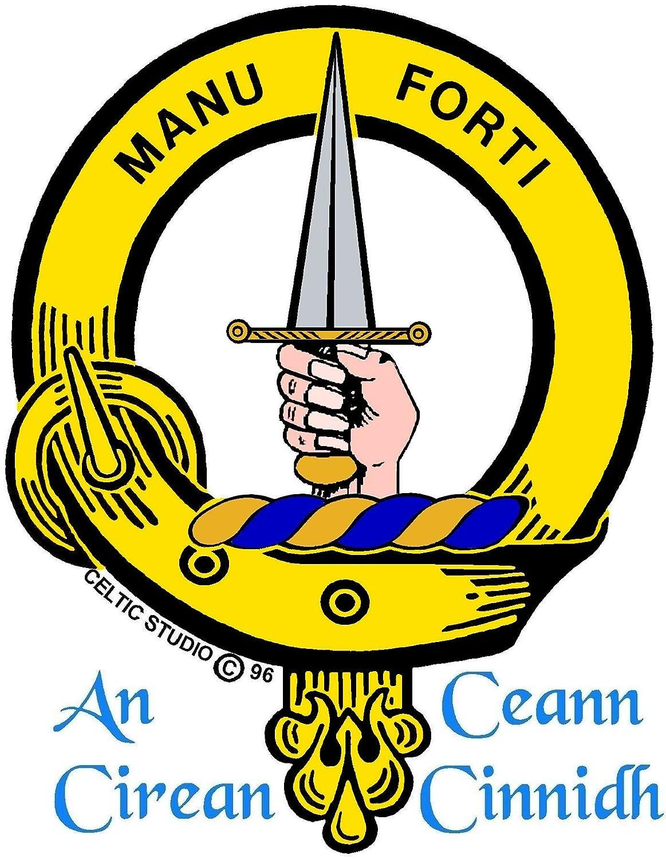 MacKay Scottish Clan Crest Badge Sporran