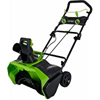 Greenworks 40V 20-Inch Cordless Brushless Snow Thrower, Battery Not Included, 2601102