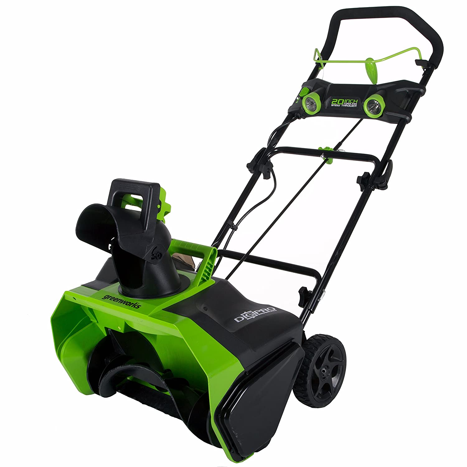 greenworks snow blower review