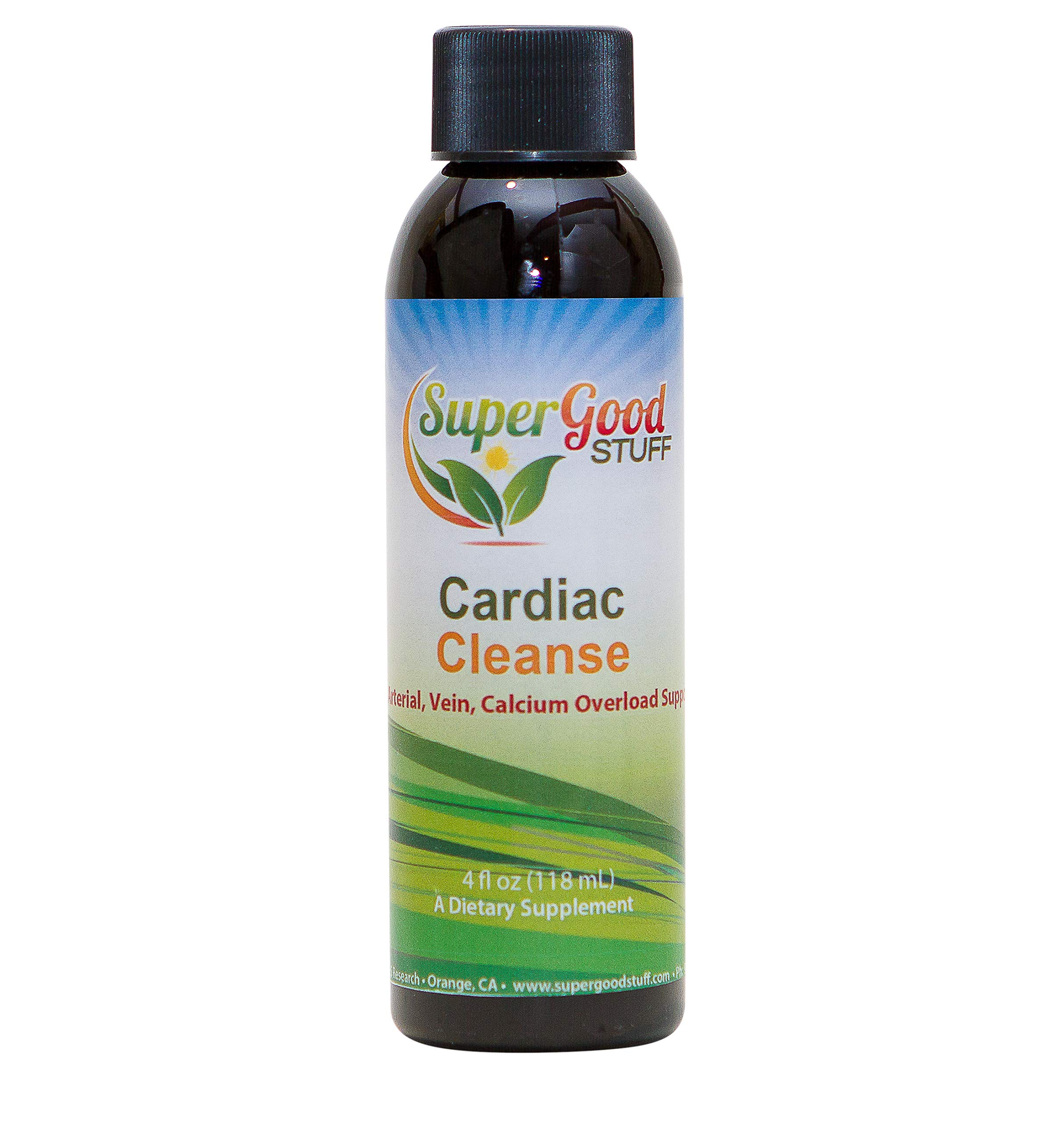 Cardiac Cleanse - Artery Cleanse - Reduces Plague and Calcium Build Up