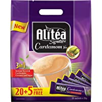 Alitéa Signature Cardamom Tea Pouch 25g (20 + 5 Free Sticks) - Promo Pack