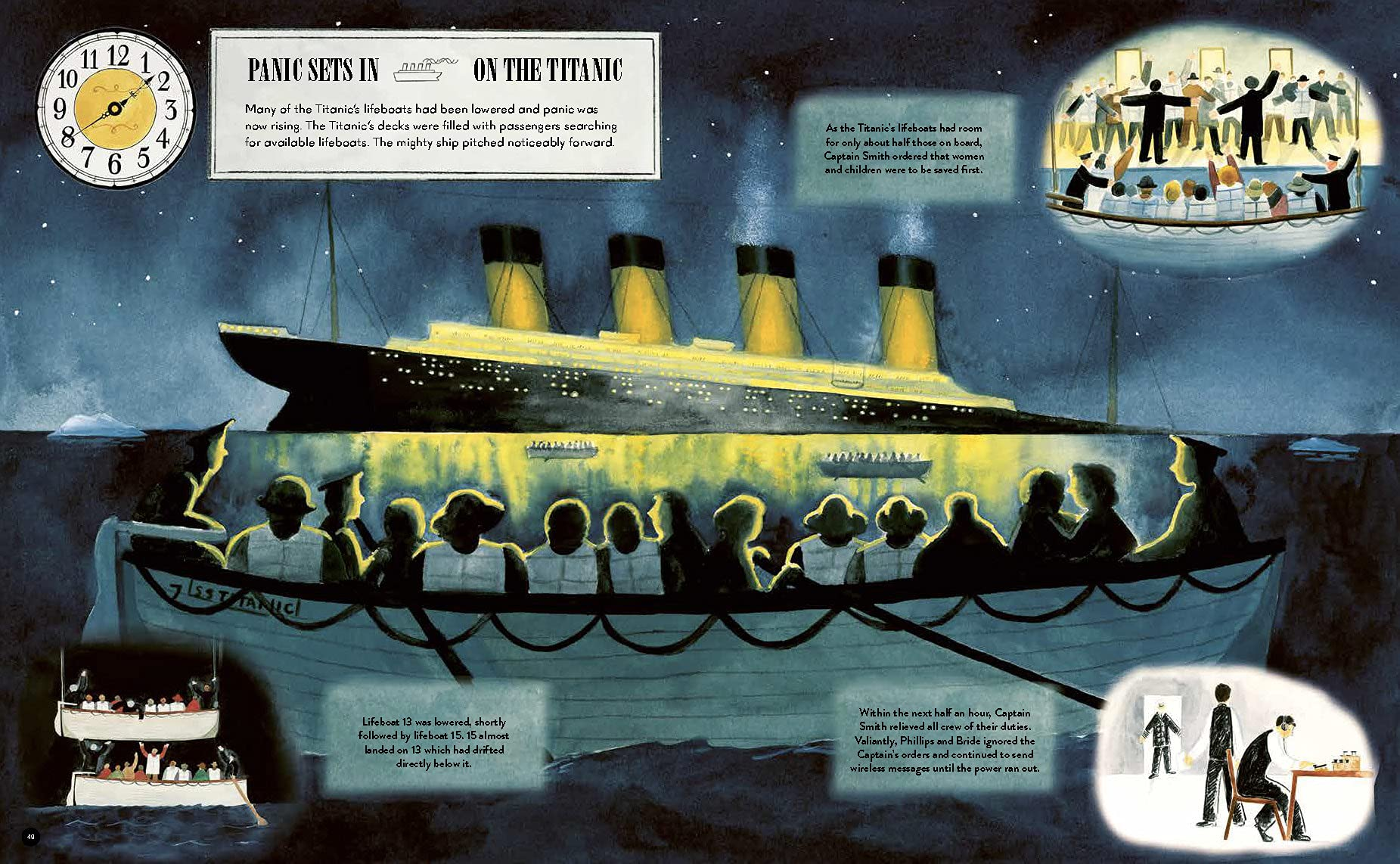 Rescuing Titanic: A true story of quiet bravery in the North Atlantic  (Hidden Histories) : Delargy, Flora: Amazon.co.uk: Books