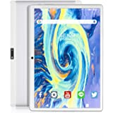 Feonal Tablet 10 inch Android 9.0 Tablet with 32GB Storage Quad-Core Processor, Dual Sim Card Slot, WiFi, Bluetooth, GPS, 128