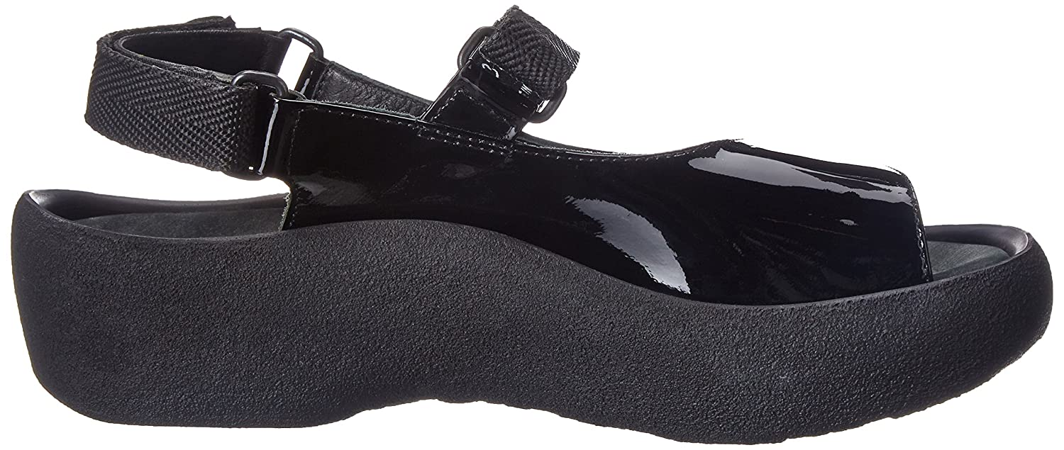 Wolky M Comfort Jewel B0016BCSHU 39 M Wolky EU|Black Patent Leather c6dd35