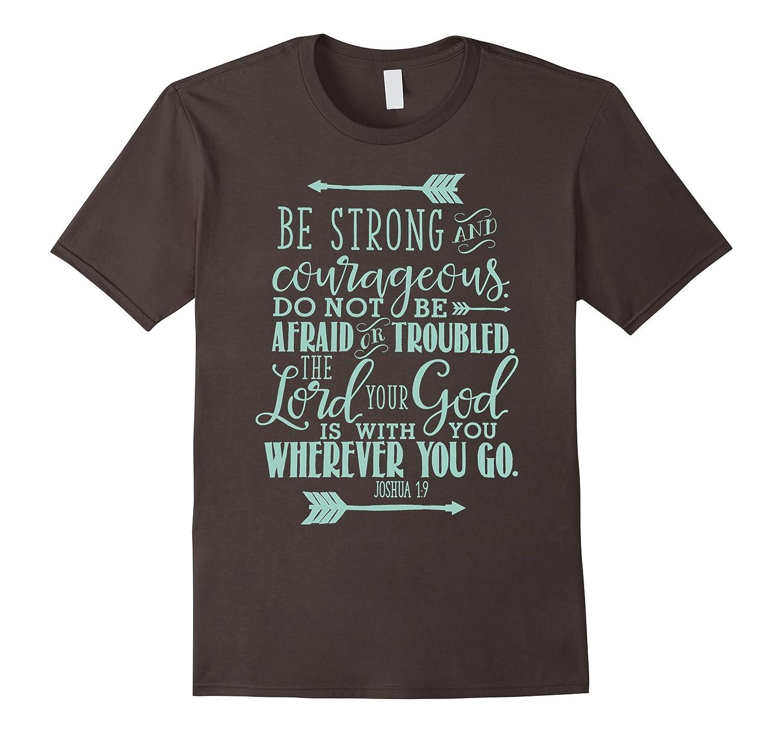 Bible Verse T-Shirt Quote - JOSHUA 19 Teal-TH