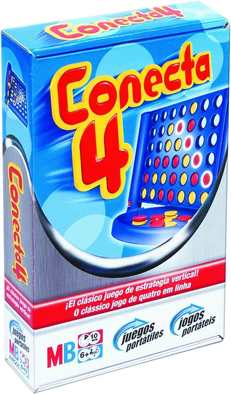 Hasbro M.B. Juegos Viaje Conecta 4 Viaje: Amazon.es: Juguetes y juegos