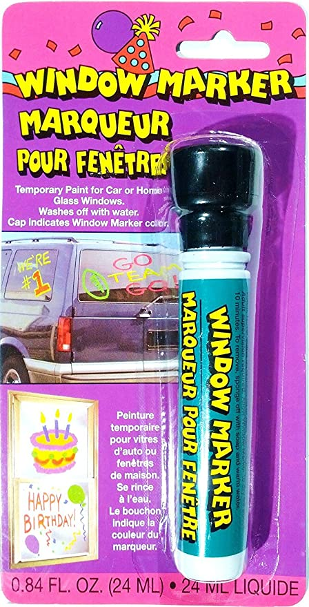 amazon com window marker black temporary paint for car or home