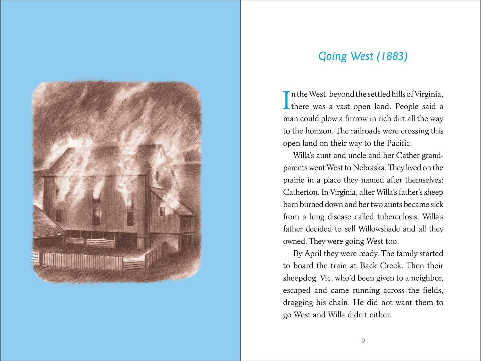 Willa: The Story of Willa Cather, an American Writer (American Women Writers) by Simon Schuster Paula Wiseman Books (Image #6)