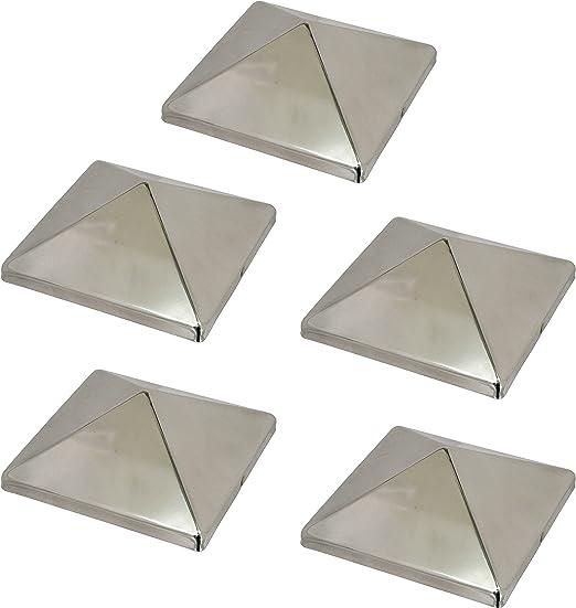 """Pyramid Post Cap 4x4 10 pack 3-1//2/"""" White"""
