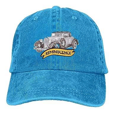 Presock Gorras De Béisbol Reminiscence Bubble Car Unisex Cowboy ...