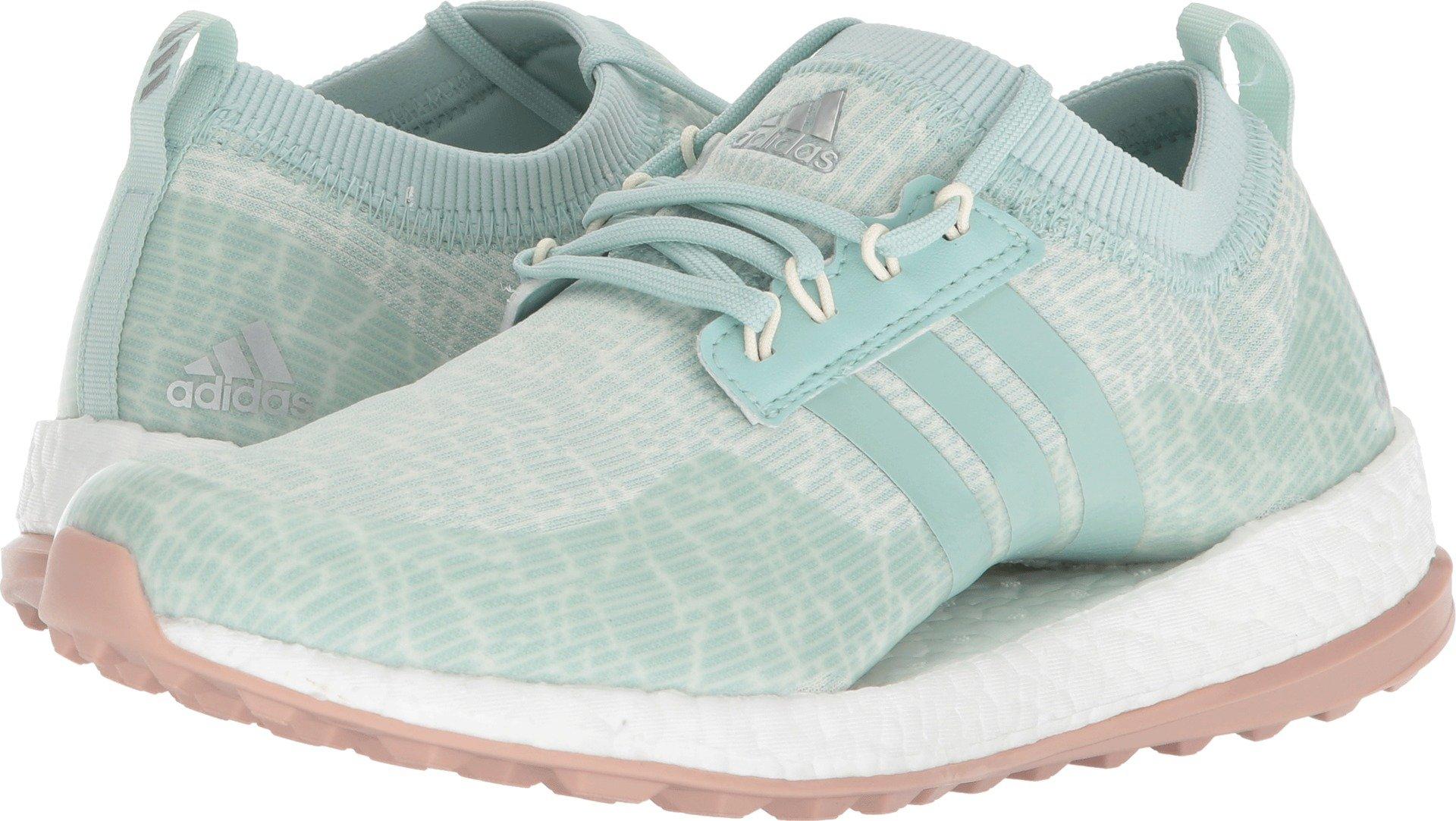 adidas Women's W Pure Boost Xg Golf Shoe, Ash Green/White Tint/Ash Pearl, 7 Medium US by adidas (Image #1)