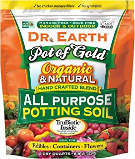 product image for Dr. Earth Pot of Gold All Purpose Potting Soil 8 qt