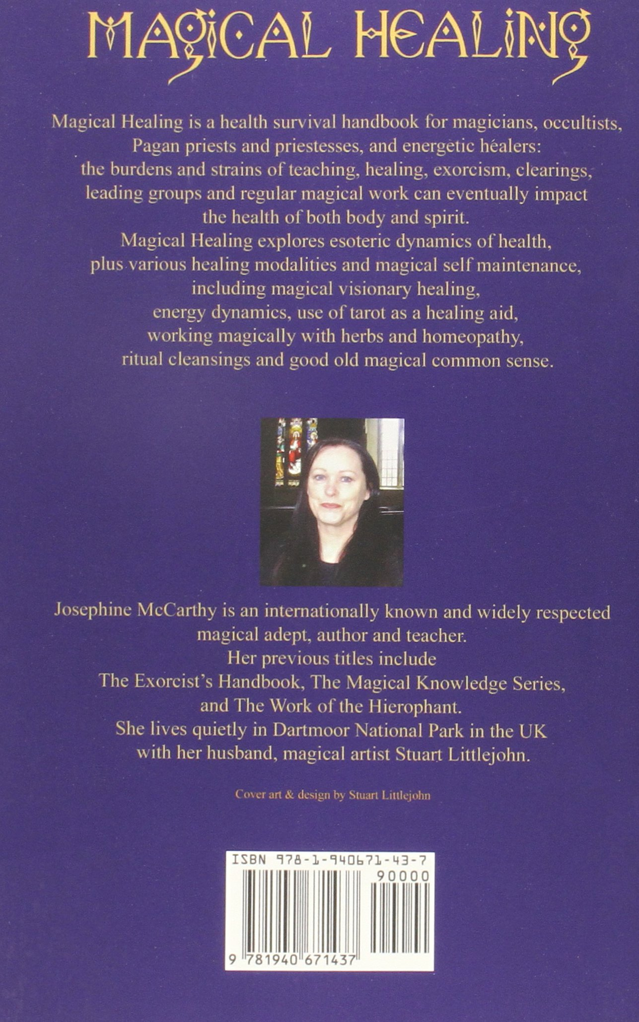 Amazon: Magical Healing: A Health Survival Guide For Magicians And  Healers (9781940671437): Josephine Mccarthy: Books