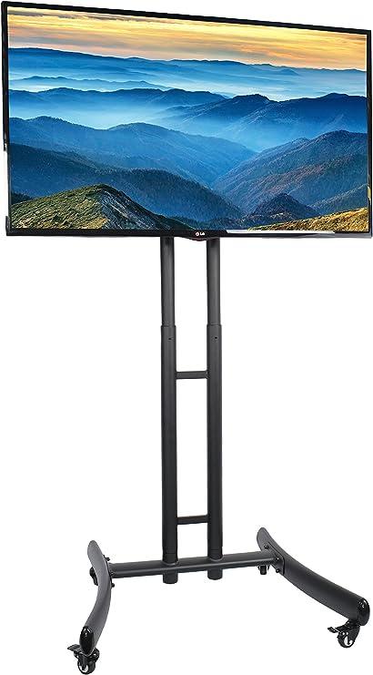 Vivo carro para TV de plasma, LED y LCD Flat Panel Soporte w/ruedas móvil compatible con pantallas de 30
