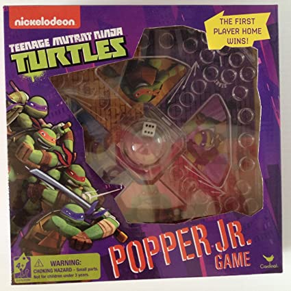Amazon.com: Teenage Mutant Ninja Turtles Popper Jr Juego ...