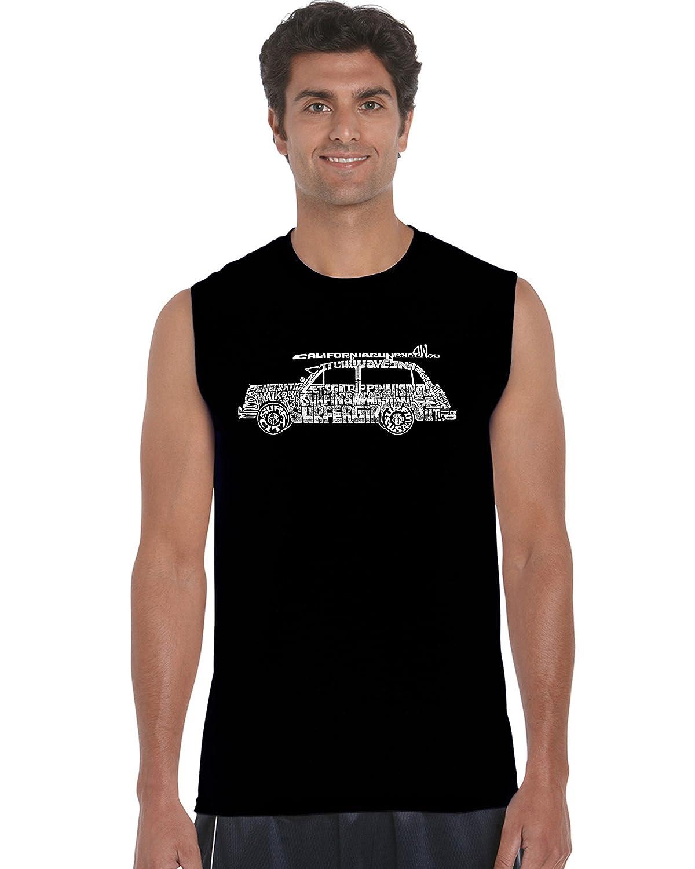85ce937113017c Men s Sleeveless T-Shirt - Woody - Classic Surf Songs  Amazon.co.uk   Clothing