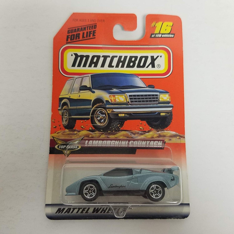 Lamborghini Countach 1999 Matchbox 1 64 Scale Diecast Car No 16 Top