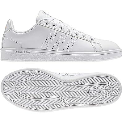 adidas Cloudfoam Advantage Clean W, Chaussures de Gymnastique Femme