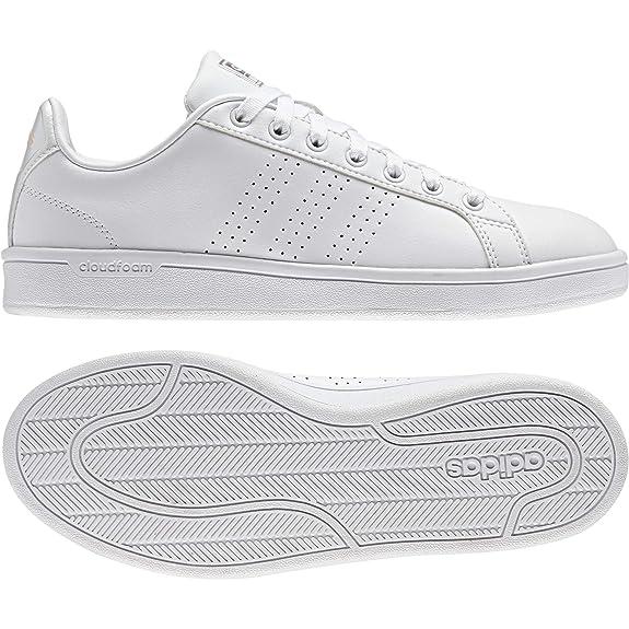 adidas Damen Cloudfoam Advantage Clean W Gymnastikschuhe