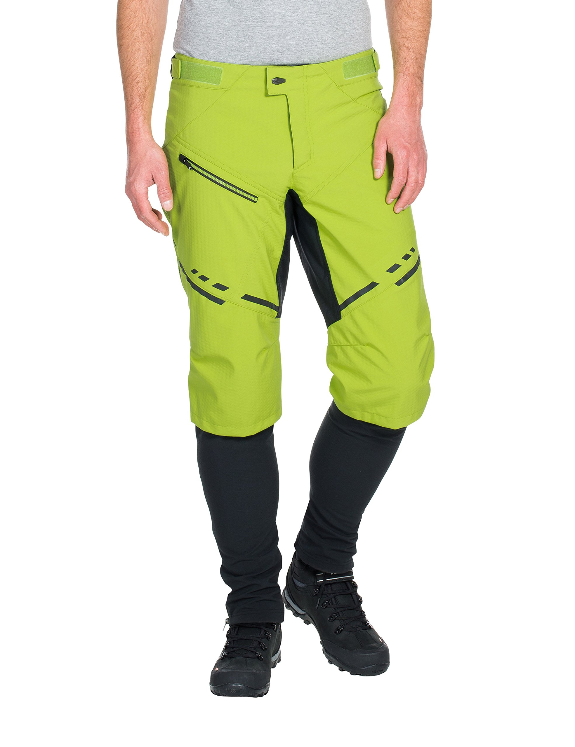 VAUDE Men's Virt Softshell II Pants, X-Large, Pistachio