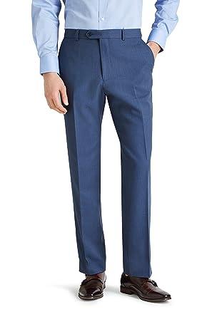 Amazon.com: Musgo Esq. Para hombre ajuste Regular azul claro ...