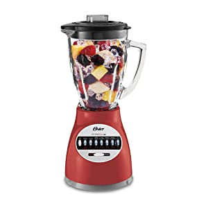 Oster 006694-R00-R01 14 Speed Culinary Blender, Red
